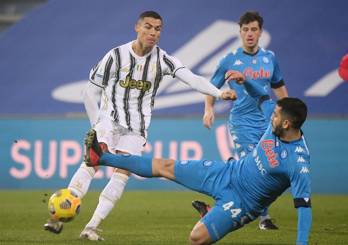 Ronaldo lập công giúp Juventus vô địch Siêu cúp Ý - Ảnh 1.