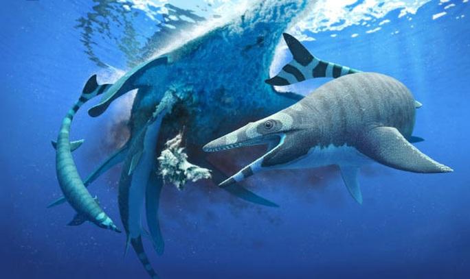 Sinh vật chưa từng thấy trên thế giới: khủng long trá hình cá mập - Ảnh 1.