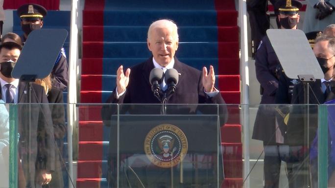 Thông điệp đầu tiên của Tổng thống Biden - Ảnh 1.