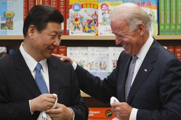 Ông Joe Biden bất ngờ nhắc đến ông Tập Cận Bình trong ngày nhậm chức - Ảnh 1.