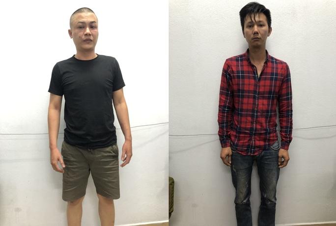 Đà Nẵng: Bắt 2 thanh niên tông xe máy vào công an để trốn chạy - Ảnh 1.