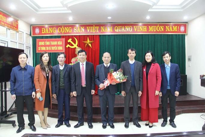 Một nhà báo được bổ nhiệm làm Phó giám đốc Sở TT-TT tỉnh Thanh Hóa - Ảnh 2.