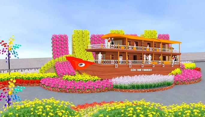 Cần Thơ đổi địa điểm thực hiện Đường hoa Xuân sau 6 năm tổ chức - Ảnh 4.