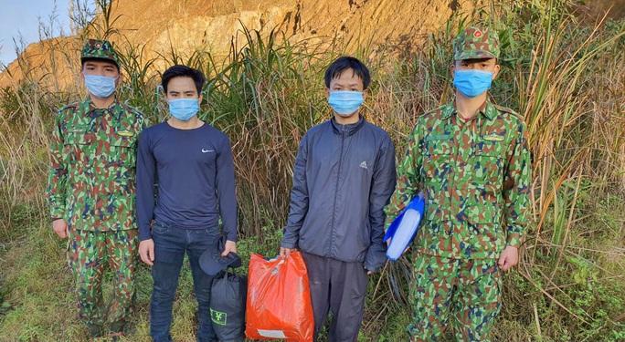 2 người vượt biên trái phép về Quảng Nam - Ảnh 1.