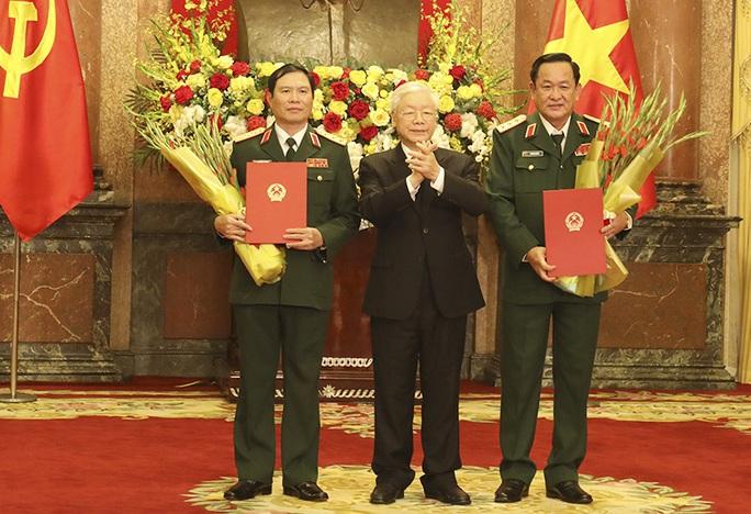 Quân đội có thêm 2 Thượng tướng - Ảnh 1.