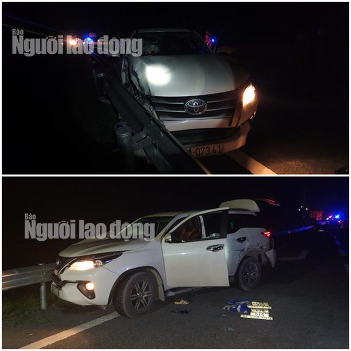 Truy bắt 2 vợ chồng bỏ ô tô biển số giả trên cao tốc chạy thoát thân - Ảnh 3.