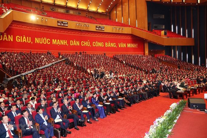 Chùm ảnh: Tổng Bí thư, Chủ tịch nước và các đại biểu dự phiên trù bị Đại hội XIII - Ảnh 13.