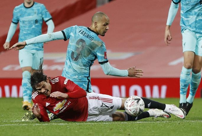 Rượt đuổi kịch tính tại Old Trafford, Man United quật ngã Liverpool ở FA  Cup - Ảnh 7.