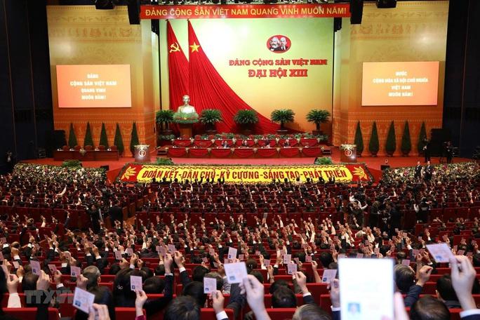 Đại hội XIII bầu Đoàn Chủ tịch, thông qua Quy chế bầu cử - Ảnh 1.