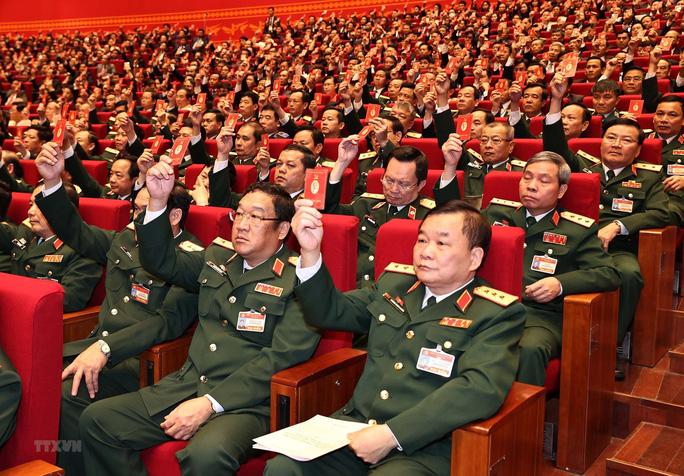 Bầu Đoàn Chủ tịch Đại hội XIII gồm 17 thành viên - Ảnh 7.