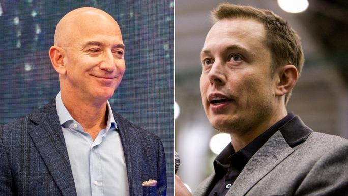 Cuộc chiến các tỉ phú Mỹ: Amazon và SpaceX kình chống nhau quyết liệt - Ảnh 1.