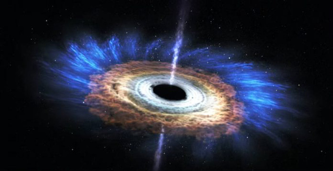 Phát hiện điều kinh khủng làm chết lỗ đen quái vật gần Trái Đất - Ảnh 1.