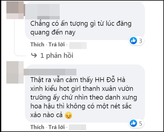Hoa hậu Việt Nam 2020 Đỗ Thị Hà lại bị chê nhạt - Ảnh 12.