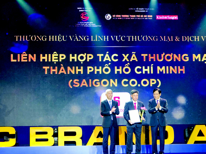 Saigon Co.op: nhà bán lẻ duy nhất là thương hiệu vàng của TP  HCM - Ảnh 1.