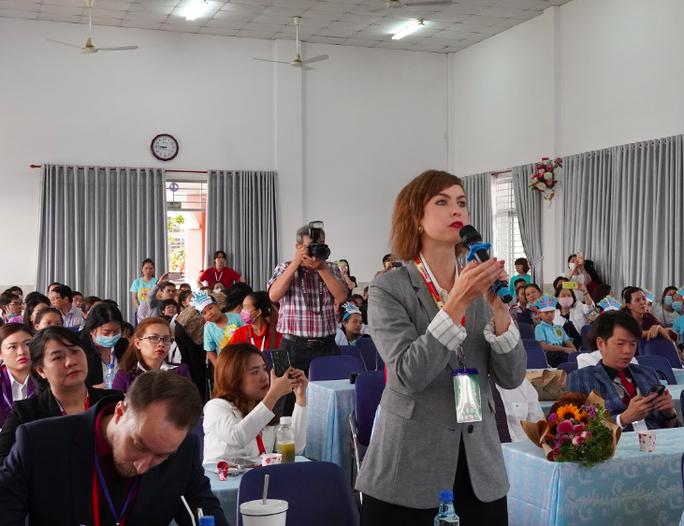 Hơn 200 học sinh tiểu học thi thuyết trình bằng tiếng Anh về khoa học - Ảnh 3.
