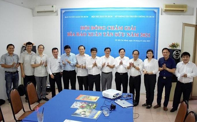Báo Người Lao Động đoạt giải nhì Cuộc thi bìa Báo Xuân Tân Sửu 2021 - Ảnh 7.