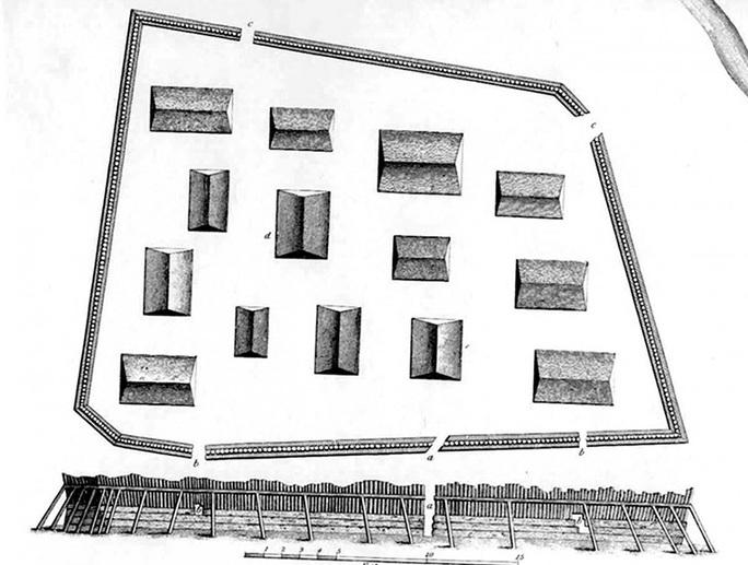 Pháo đài ma biến mất 100 năm bất ngờ hiện hình trong ảnh radar - Ảnh 2.