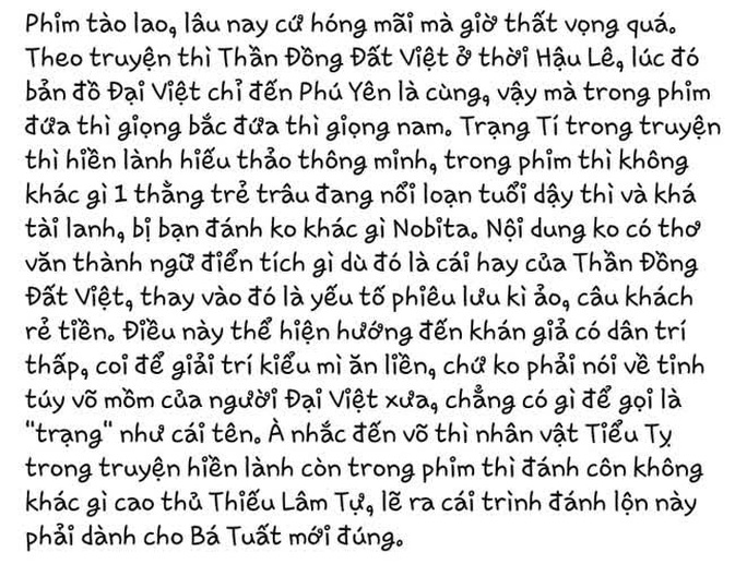 Trạng Tí chưa ra rạp đã bị tẩy chay, Ngô Thanh Vân lãnh chỉ trích - Ảnh 6.