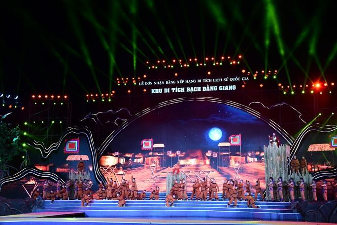 Thủ tướng dự Lễ đón nhận Bằng xếp hạng Di tích lịch sử Quốc gia Khu di tích Bạch Đằng Giang - Ảnh 9.
