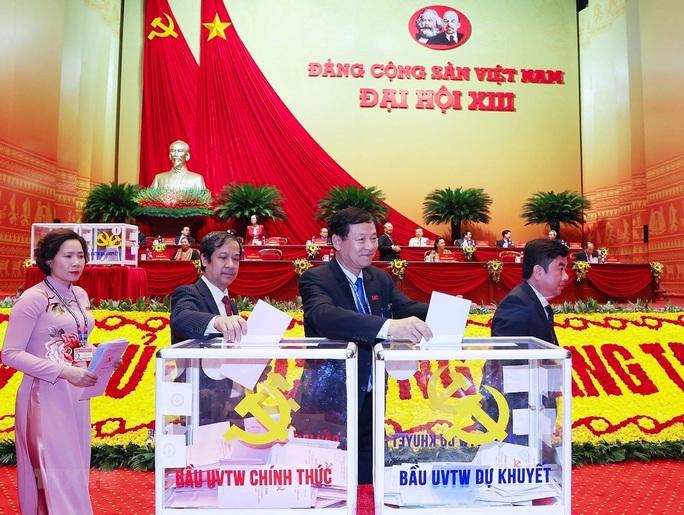 Chùm ảnh: Bỏ phiếu bầu Ban Chấp hành Trung ương khóa XIII - Ảnh 8.