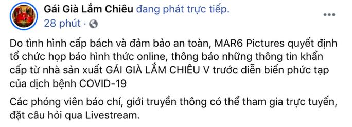 Showbiz Việt lại tạm đóng băng - Ảnh 6.