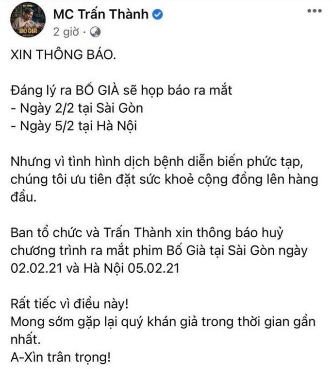 Showbiz Việt lại tạm đóng băng - Ảnh 2.