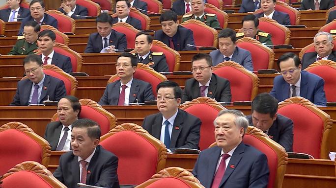 Chùm ảnh: Trung ương khóa XIII họp bầu Bộ Chính trị, Tổng Bí thư - Ảnh 8.