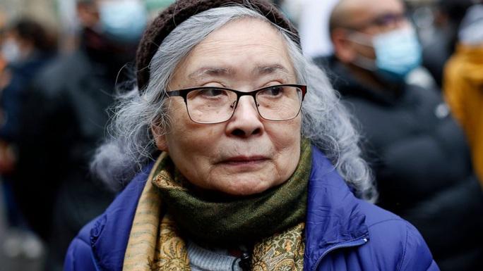 Pháp: Biểu tình ủng hộ vụ kiện chất độc da cam của bà Trần Tố Nga - Ảnh 1.