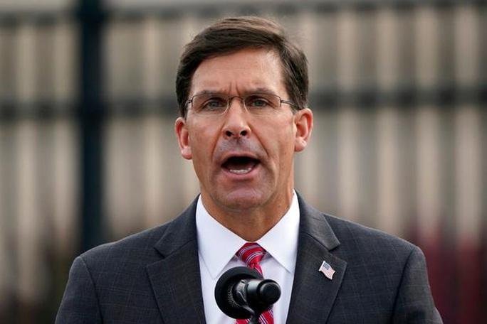 Cảnh báo của 10 cựu bộ trưởng quốc phòng Mỹ hậu bầu cử - Ảnh 1.