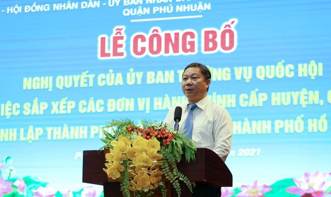 TP HCM: Quận Phú Nhuận tiến hành sáp nhập các phường  - Ảnh 2.