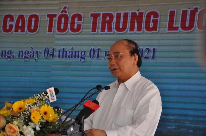 Thủ tướng cắt băng thông tuyến cao tốc Trung Lương - Mỹ Thuận - Ảnh 1.