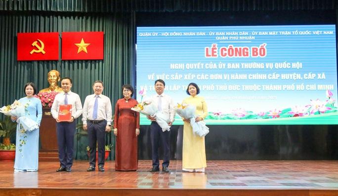 TP HCM: Quận Phú Nhuận tiến hành sáp nhập các phường  - Ảnh 1.