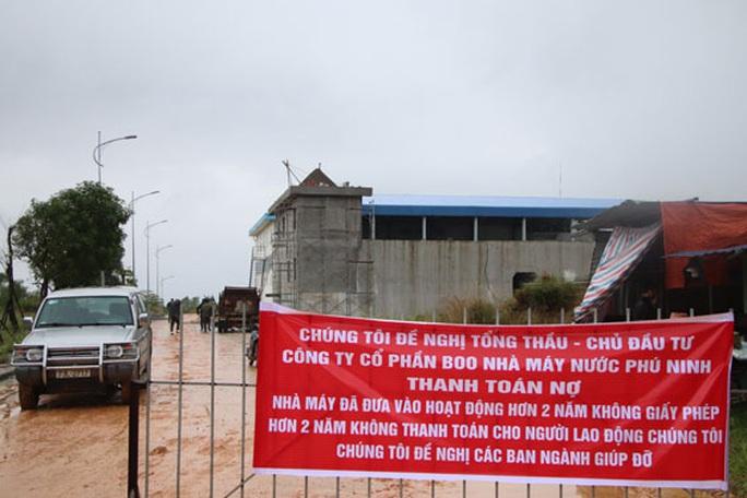 Nhà máy nước Phú Ninh bị đòi nợ 130 tỉ đồng - Ảnh 1.