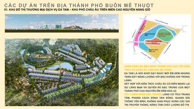 Bầu Hiển đầu tư phố châu Âu tại Đắk Lắk - Ảnh 1.