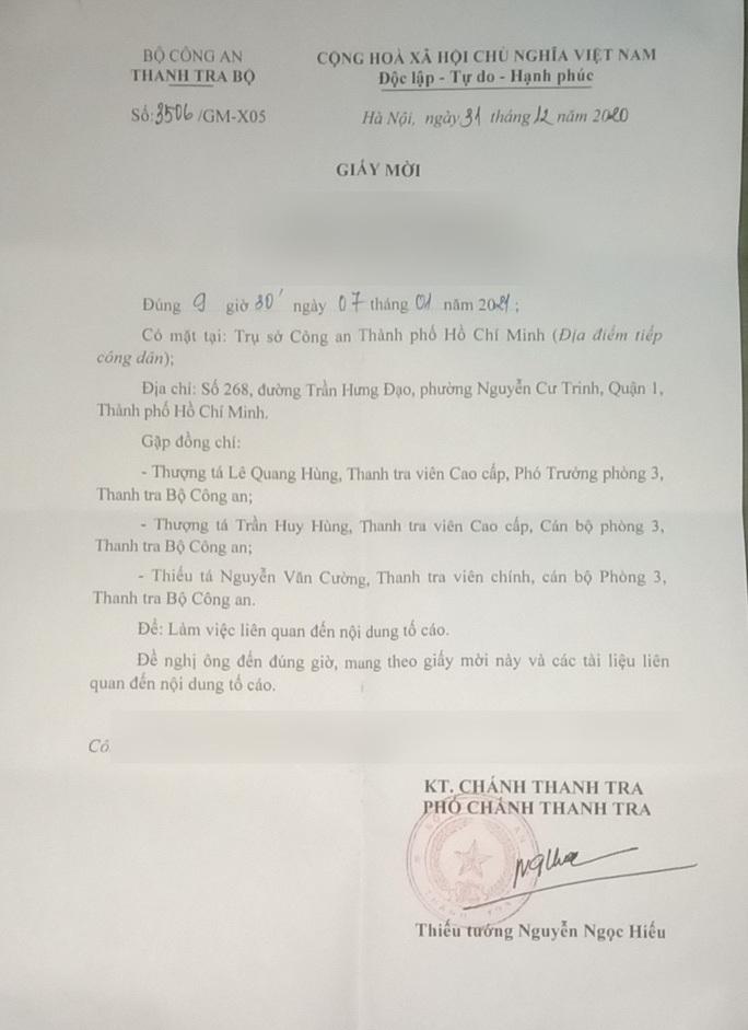 Vụ CSGT Tân Sơn Nhất bị tố vòi tiền: Phải cấp cao hơn mới công tâm? - Ảnh 1.