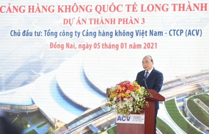 Thủ tướng vừa bấm nút khởi công xây dựng sân bay quốc tế Long Thành - Ảnh 12.