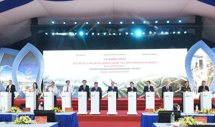 Thủ tướng vừa bấm nút khởi công xây dựng sân bay quốc tế Long Thành - Ảnh 13.