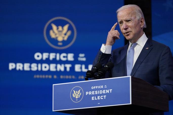 Quốc hội Mỹ chính thức công nhận chiến thắng của ông Joe Biden - Ảnh 1.