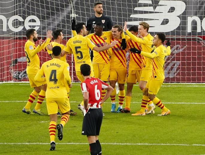 Messi lập cú đúp trước Bilbao, Barca áp sát 2 kình địch Madrid - Ảnh 7.
