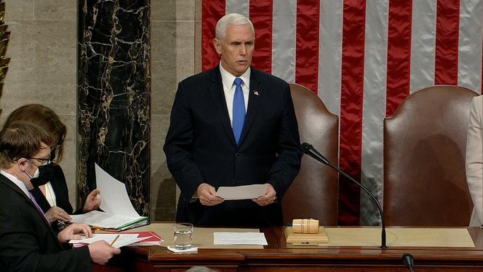Quốc hội Mỹ chính thức công nhận chiến thắng của ông Joe Biden - Ảnh 3.