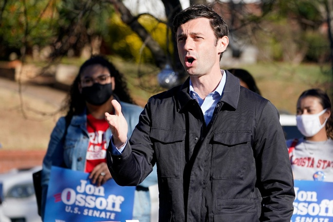 Đảng Dân chủ thắng 2 ghế Georgia, giành ưu thế ở Thượng viện - Ảnh 1.