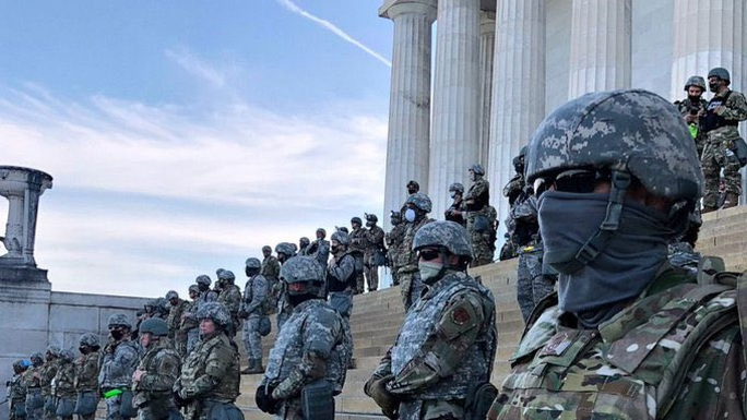 Vệ binh Quốc gia New York đến thủ đô Washington chi viện - Ảnh 3.