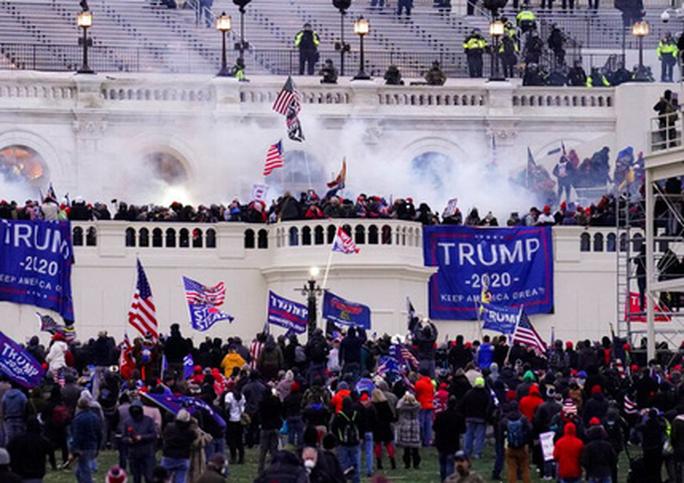 Quốc hội Mỹ trước nguy cơ bị bạo loạn lần hai - Ảnh 1.