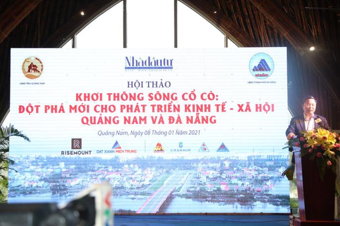 Chủ tịch Quảng Nam: Cổ Cò sẽ là một trong những con sông đẹp nhất Việt Nam - Ảnh 2.