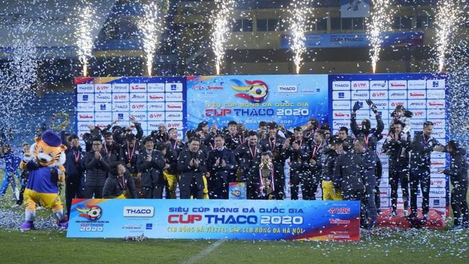 Hà Nội FC giành Siêu cúp Quốc gia - Ảnh 1.