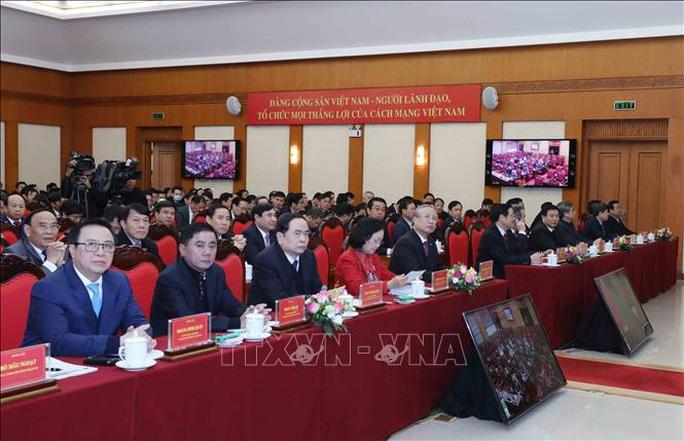 Ông Trần Quốc Vượng: Chống tham nhũng có bước đột phá mới trong nhiệm kỳ Đại hội XIII - Ảnh 2.
