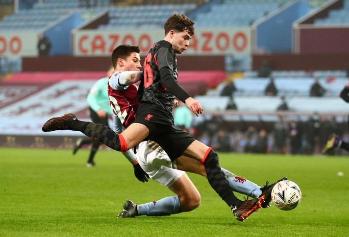 Năm phút ghi 3 bàn, Liverpool đè nghiến chủ nhà Aston Villa ở FA Cup - Ảnh 1.