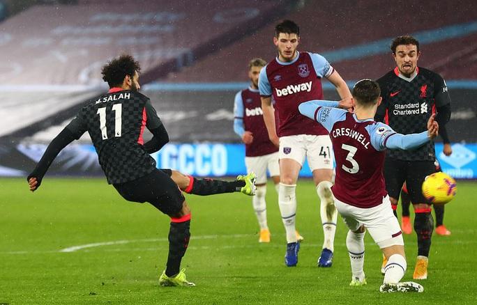 Hung thần Salah tỏa sáng, Liverpool bùng nổ hạ đẹp West Ham - Ảnh 3.