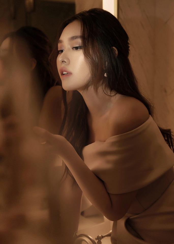Hậu kết hôn, Á hậu Tường San khoe nhan sắc cuốn hút như Song Hye Kyo - Ảnh 4.