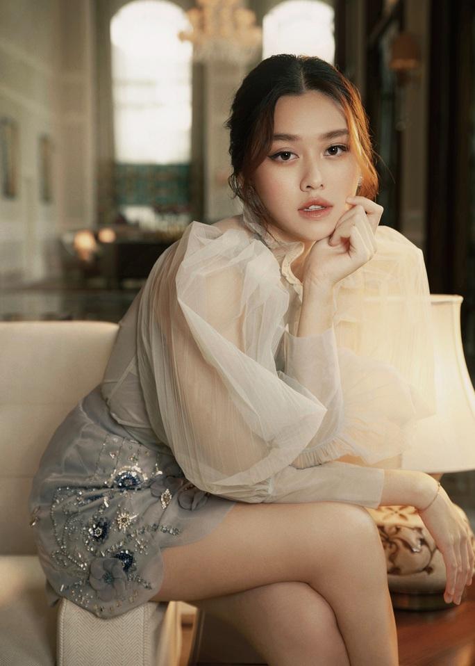 Hậu kết hôn, Á hậu Tường San khoe nhan sắc cuốn hút như Song Hye Kyo - Ảnh 2.